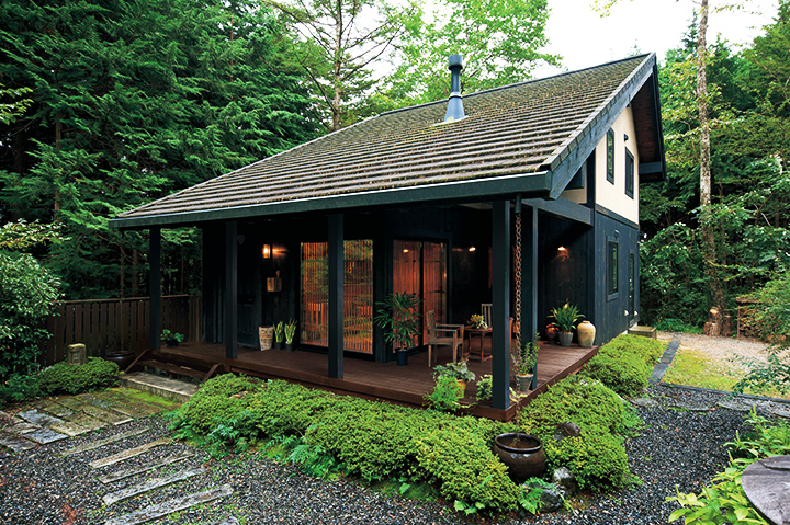 ログハウス_BESSの住宅施工画像